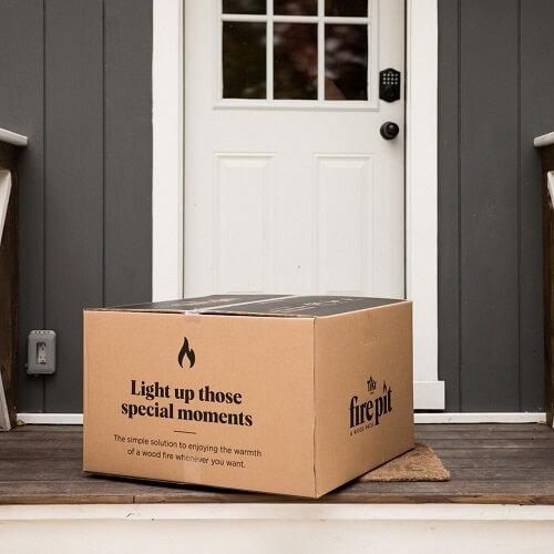 firepit delivered to your door