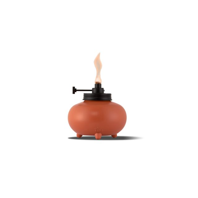 ADJUSTABLE FLAME TABLE TORCH IN ORANGE
