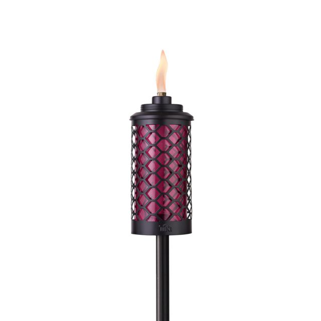 EASY INSTALL HONEYCOMB TORCH IN BURGUNDY