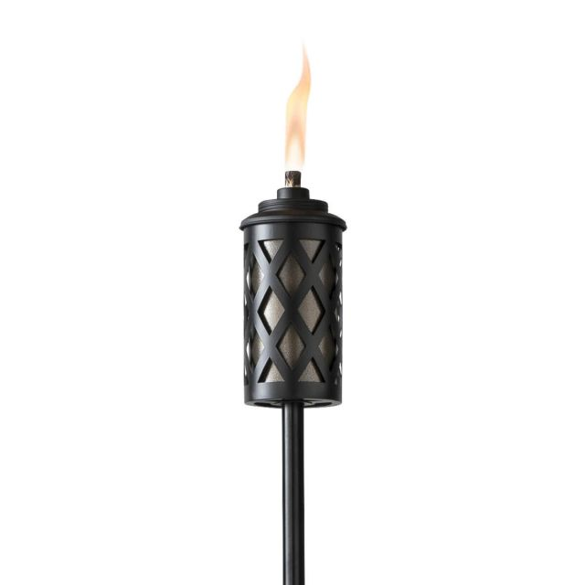 URBAN METAL TORCH IN BRONZE
