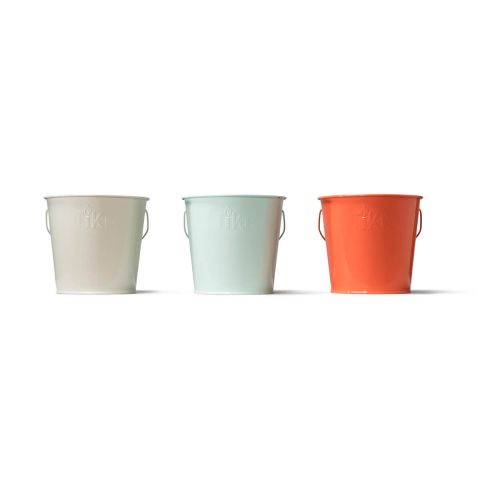 SEASIDE ESCAPE CITRONELLA WAX BUCKETS - 3 PACK