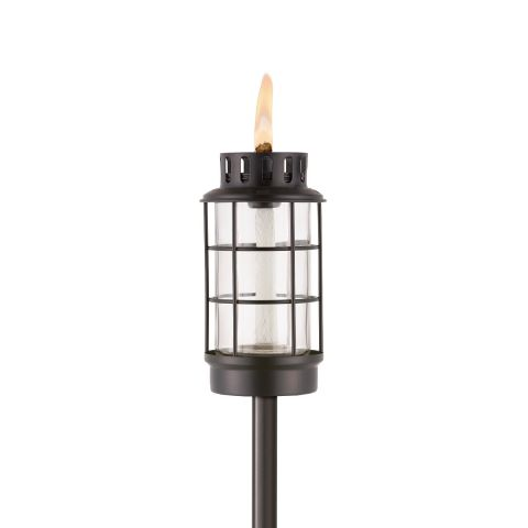 EASY INSTALL LANTERN TORCH IN BLACK