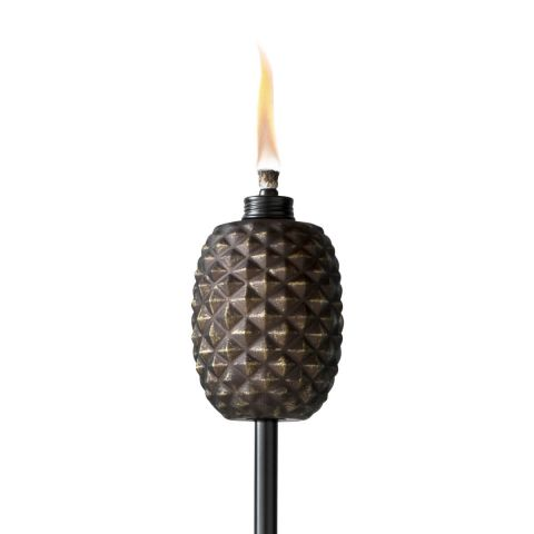 ALOHA PINEAPPLE TORCH IN COPPER
