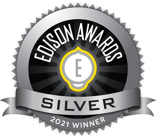 edison award silver badge
